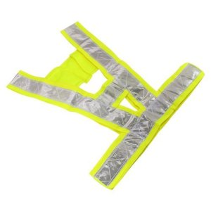 High Safety Security Visibility Reflective Reflector Vest Gear Biking Running Jogging by YoYoflyer Amazon.com $4.99