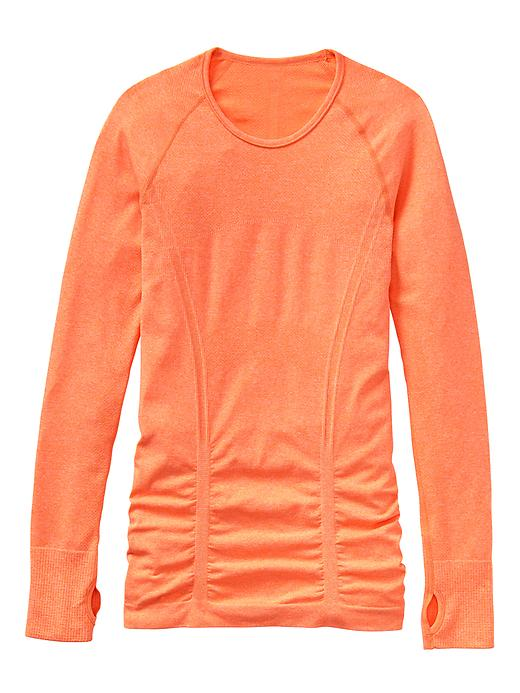 Fast Track Top: The most comfortable seamless base layer ever that puts breathable, wicking performance right against your skin plus Unstinkable technology so you can wear it more and wash it less. athleta.com $64.00